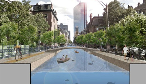 Boston-SeaLevelRise-_78515825_clarendon_canal624